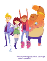 Bravest Warriors by jimenanrp