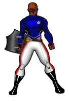 Young Avengers Patriot by RWhitney75