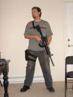 Dale with guns stock 13 by Tensen01
