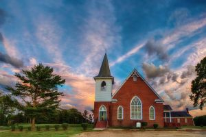 St. Something's Church by swiftmoonphoto
