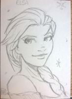 Elsa from Frozen by SavantGuarde