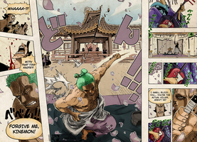 One Piece Chapter 909 Color by pridesaac