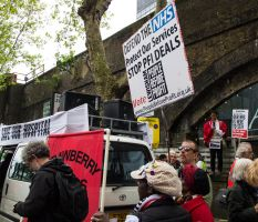 18/05/13 - Save the NHS protest, London by LouHartphotography