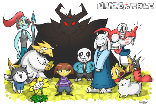 Undertale by ecumsille