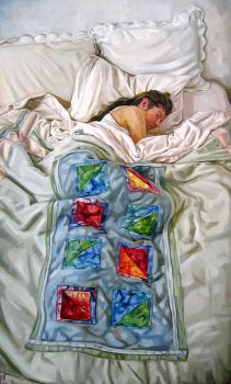 Quilted Figure by HeatherHorton