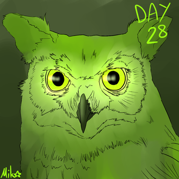 Day 28 by MikoMei