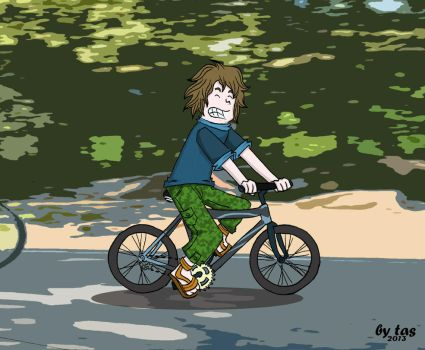 ride a bicycle by budoxesquire