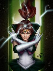 Sailor Jupiter by fatL-ephant