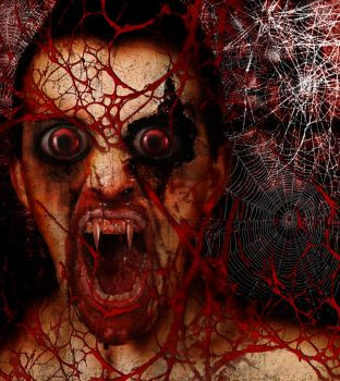 Tangled in My Web of Horror by Hexorcist
