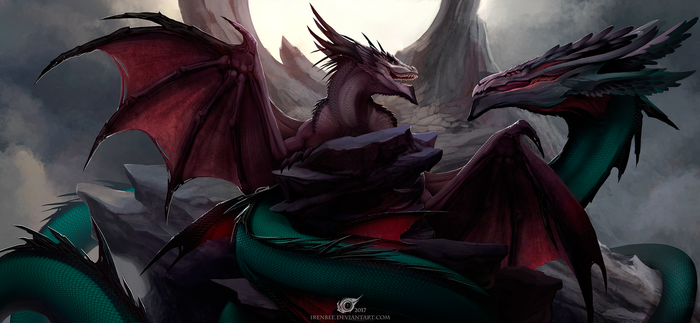 A Dance With Dragons by IrenBee