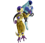 Golden Freeza and Frost by ChibiDamZ