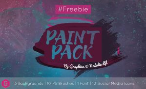 Paint pack Graphics by Natalia Lfl by NataliaLfl