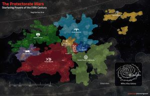 The Protectorate Wars Map by Shimmering-Sword