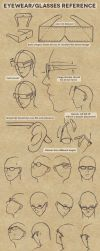 Eyewear/Glasses Reference by Boogol