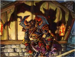 worgen shadow by nocturnals23