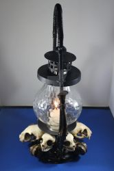Cat Skull Lantern 2 - Sold by seancfinnigan