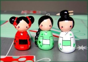 Little Geisha II by janeybaby