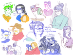 Sketch Dump by Thea0605