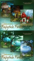 Fairytale Forest by cosmosue