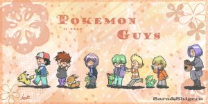 Pokemon Guys 2 by sara