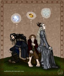 The Hobbit: Obsession by wolfanita