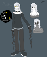 CP/Horror OC: Misty ref(update) by sonicman10