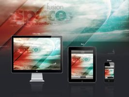 Wallpaper Fusion SPace by lereo