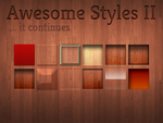 Awesome Styles (Set 2) by FelixderDrummer
