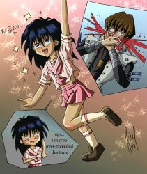 mokuba crossdressing XD by karukumi2
