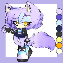 Riley The Wolf ~ ADOPT ~ by Yumiichu