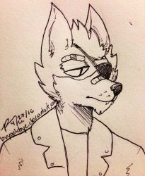 Day #171 4/27/16 Wolf O'Donnell by BuyGoldBYE