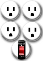 Powerstrip buttons by e-tahn