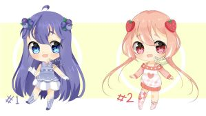 [CLOSED, TY] Set Priced Berry Adopts by Shika-Adopts