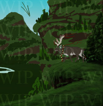 Forest Elder WIP by Shade-of-the-Night