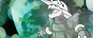 Aggron Banner by TaiyoPrower