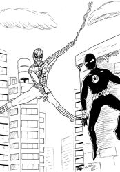 Spider-Man - Team-up with Black Arachnid by FG-Arcadia