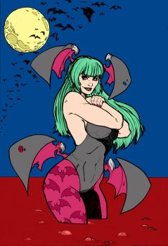 Morrigan By Thomasblakeartist by Kenkira