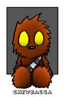 Lil' Plusher Chewbacca by 5chmee