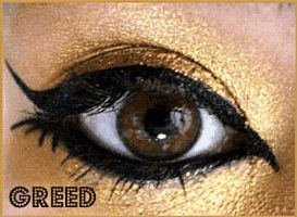 7 Deadly Sins Makeup: Greed by Steffmiesterx13
