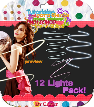 12 Lights Pack -byCarly by carly-ps