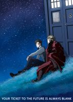 Doctor Who Trigun by nokeek