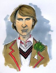 The Fifth Doctor by L-F-S