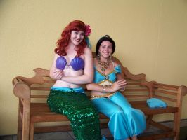 AFO 2010- Two Princesses by Cadebee