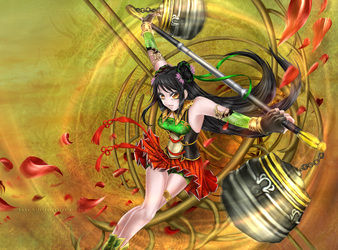 Guan Yinping: Lethal Dance by rinfiora
