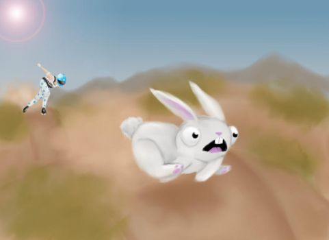 BUNNY RUN by zallegirl