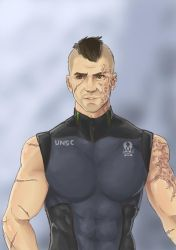 Vance - Halo OC by Cloudy-0w0
