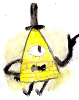 Bill cipher painting by Fran48