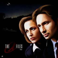 The X Files - paint by fednan