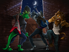 Nightriders Battle of the Bands Part 17 by AxlReigns