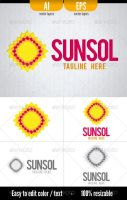 Sunsol - Logo Template by doghead